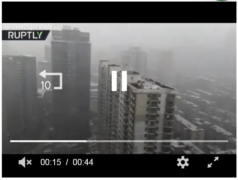 ویدیو-مرکز شیوع ویروس کرونا سفیدپوش شد