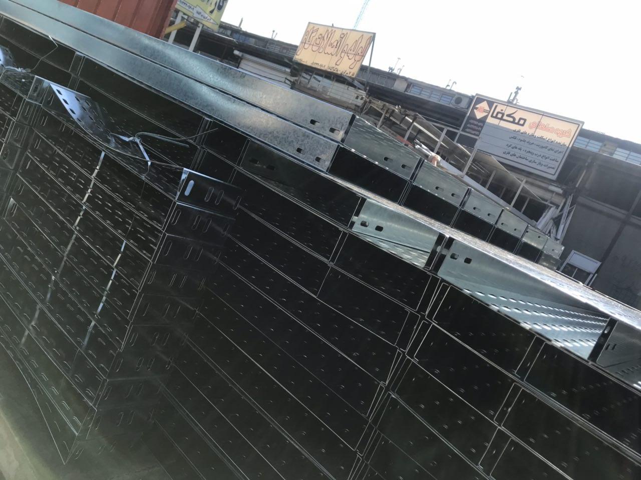 شيوه چيدمان و بسته بندي تولید کننده سینی کابل بعد از ساخت