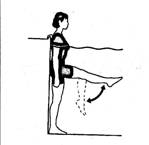 تمرین در آب برای زانو - حرکات آب درمانی زانو - حرکات ورزشی زانو در استخر