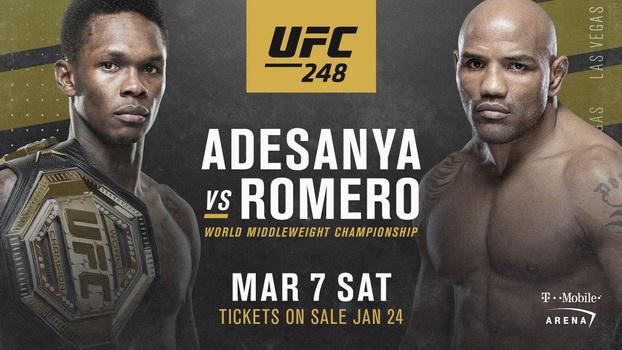 دانلود رویداد یو اف سی  248  : UFC 248: Adesanya vs. Romero