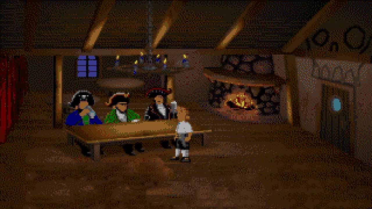 دانلود بازی The Secret of Monkey Island برای PC