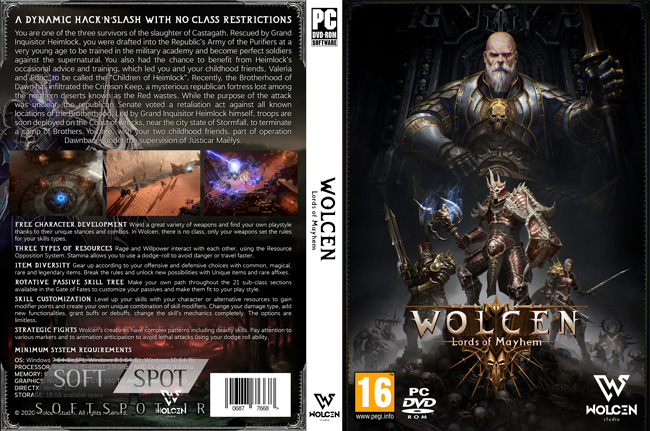 Wolcen Lords of Mayhem Cover