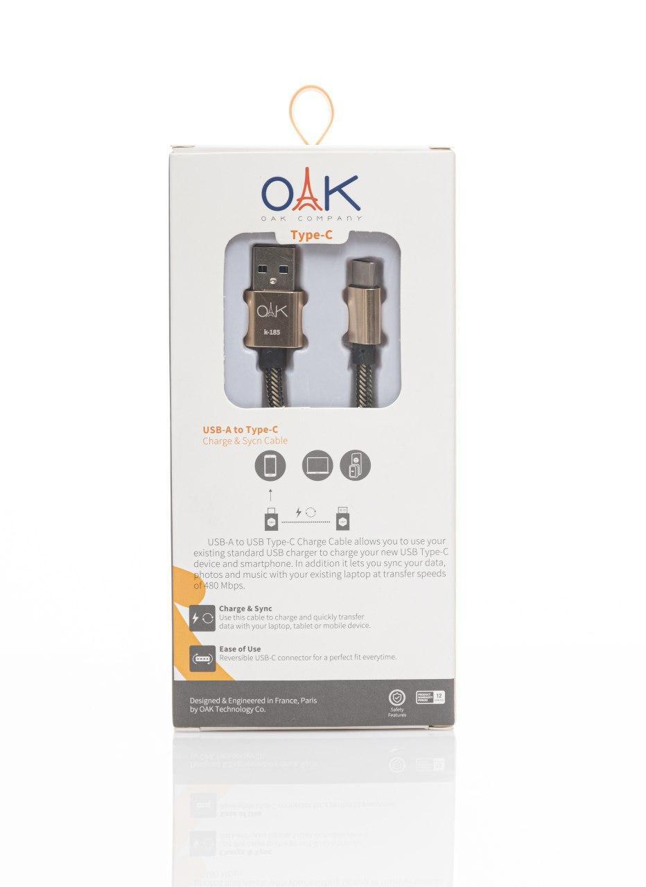 OAK K185 Type-c Cable oak k185 type-c cable OAK K185 Type-C Cable OAK K185 Type C Cable