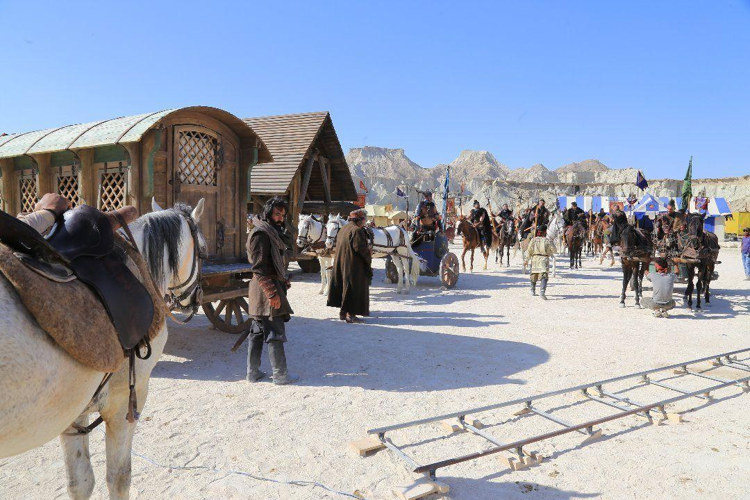 پایان تصویربرداری سریال «سلمان فارسی» در قشم