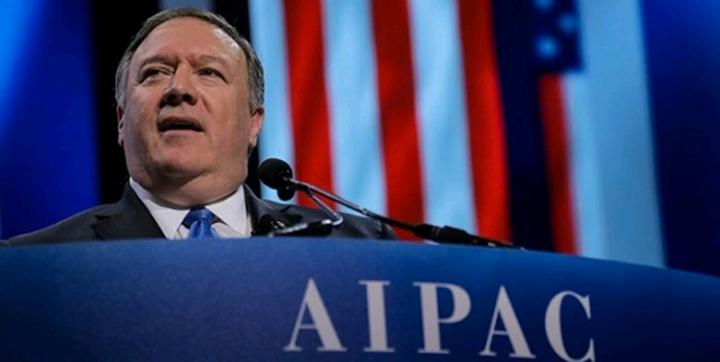 پامپئو الان که ایران درگیر کرونا است بیشتر باید فشار بیاوریم
