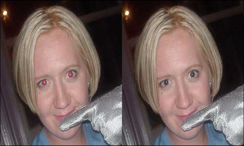 Fix Red Eye in Photoshop