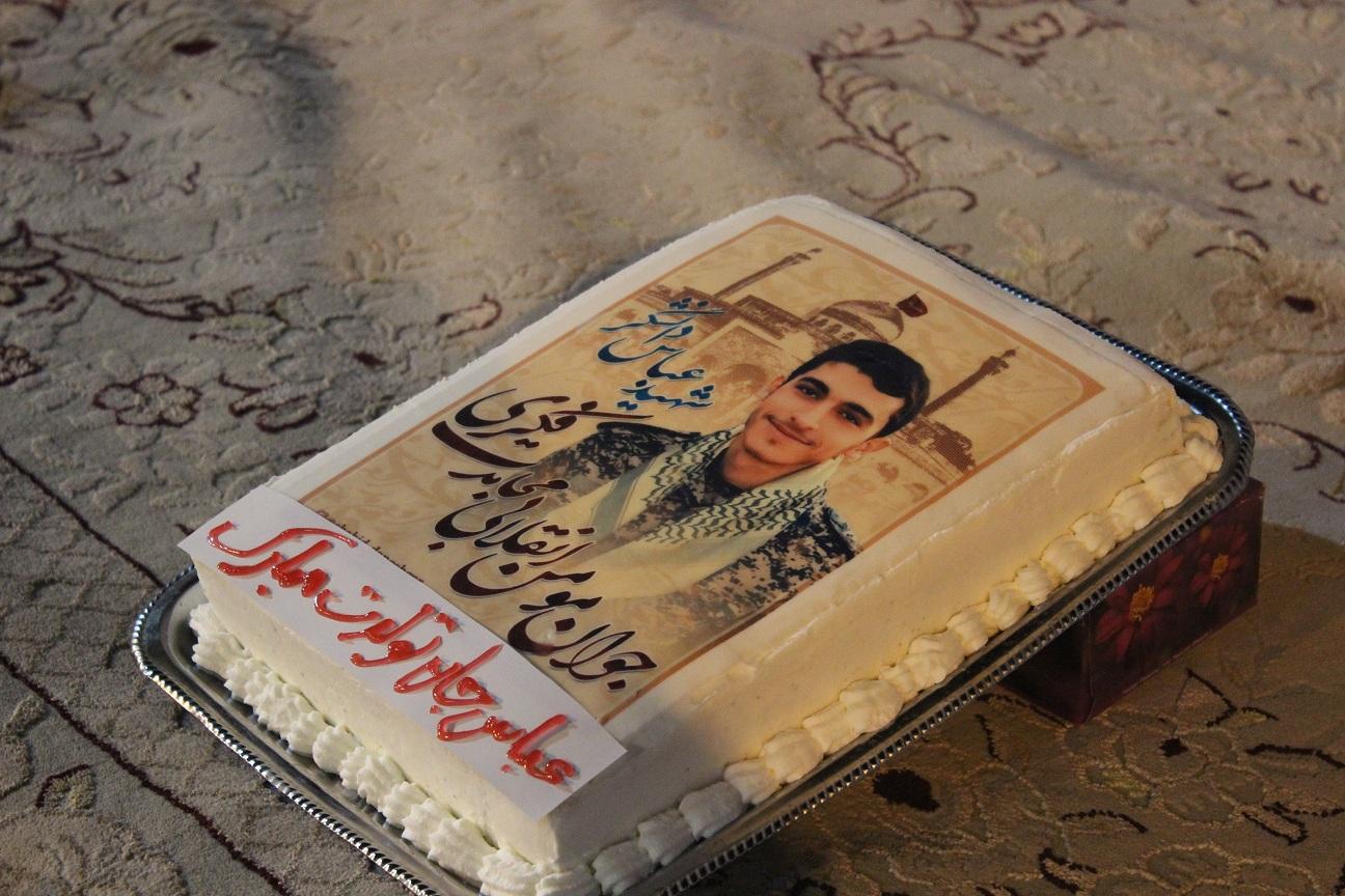 جشن تولد شهید دانشگر در امامزاده اشرف سمنان