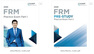 The 2020 Financial Risk Manager (FRM) GARP Pre-Study & Examination Practice Exam - Part I