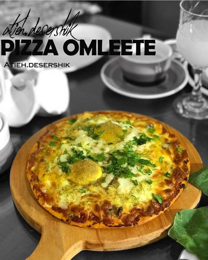 پیتزا املت